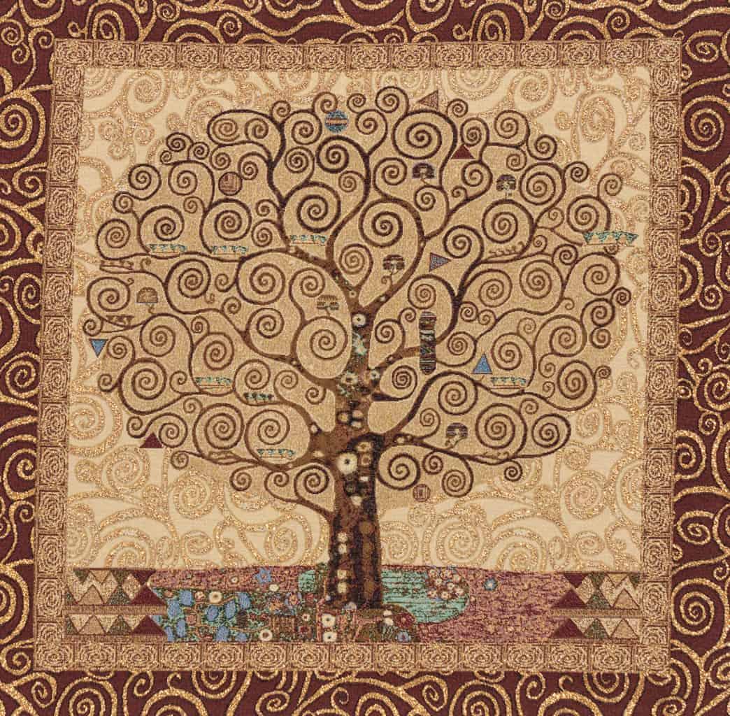 vendita arazzo albero gustav klimt arazzi moderni
