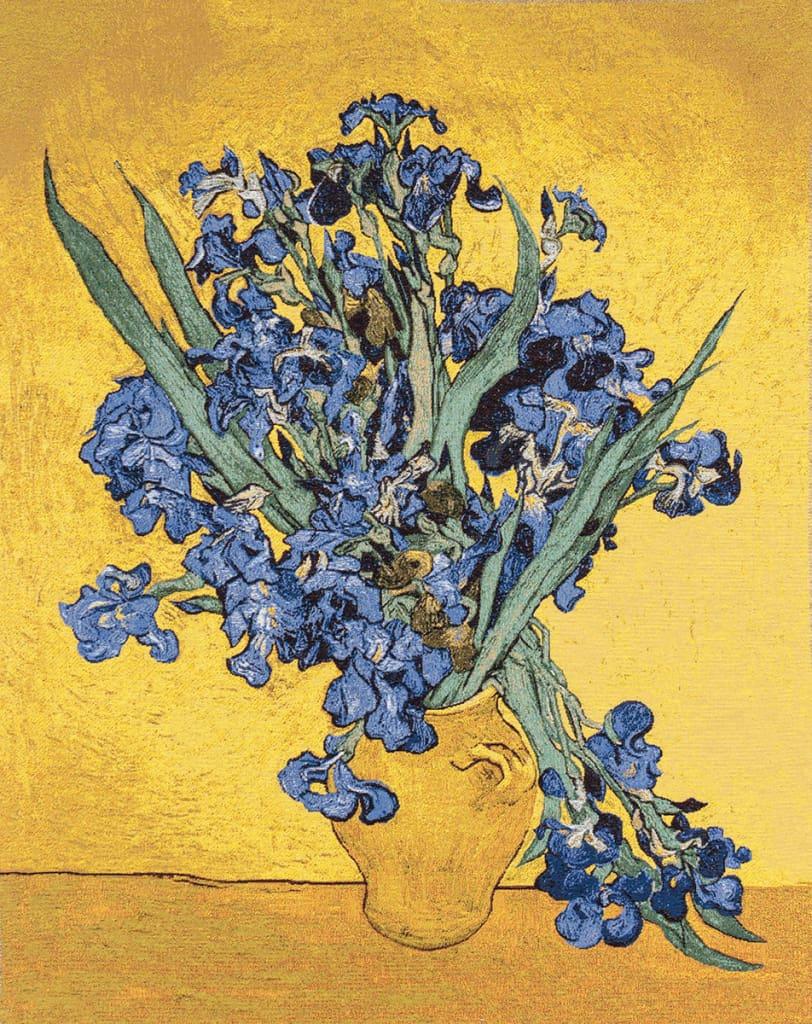 Vendita arazzo iris di vincent van gogh arazzi moderni for Arazzi moderni