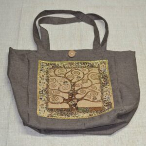 Klimt tree of life bag tapestry