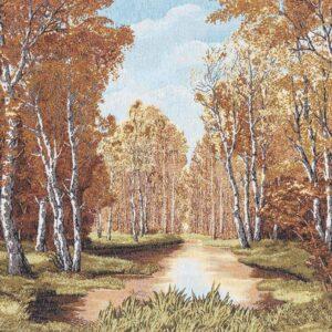 Arazzo Paesaggio bosco autunnale