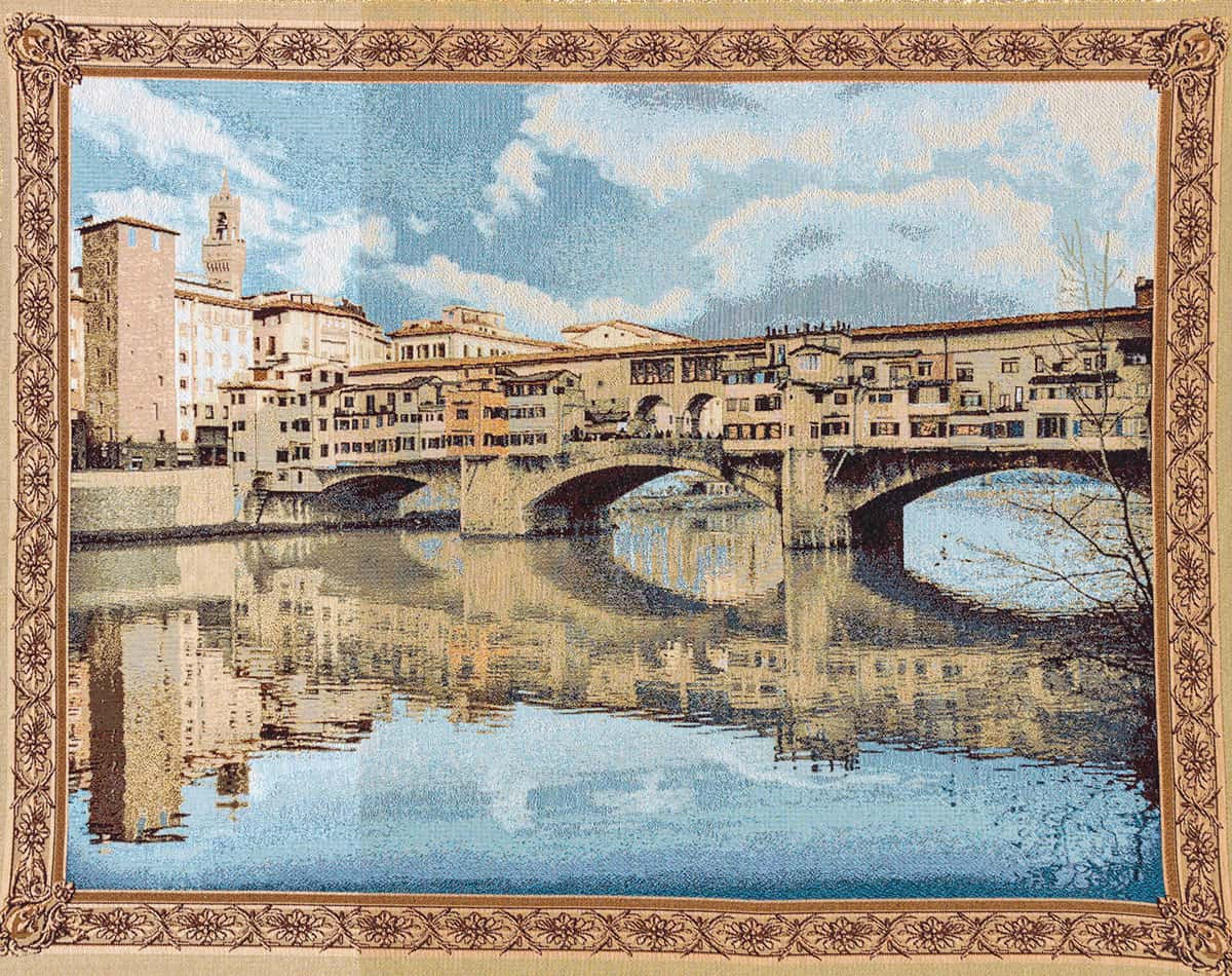 Tapestry Ponte Vecchio - Florence