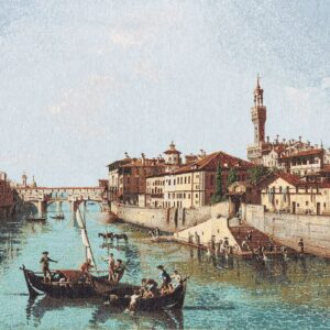 Ancient Florence Tapestry  Canaletto