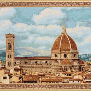 Florence flower Santa Maria tapestry