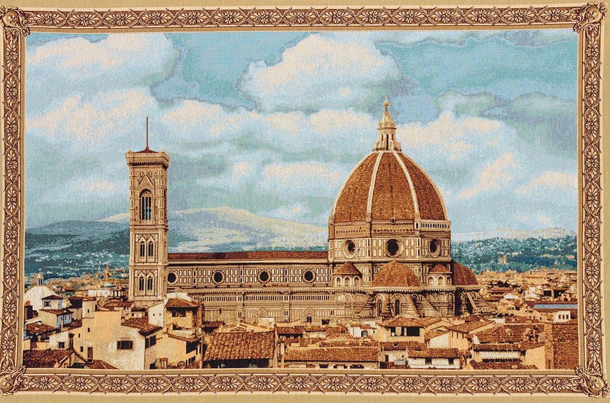 Florence flower Santa Maria tapestry