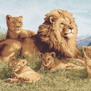 Arazzo Branco di leoni