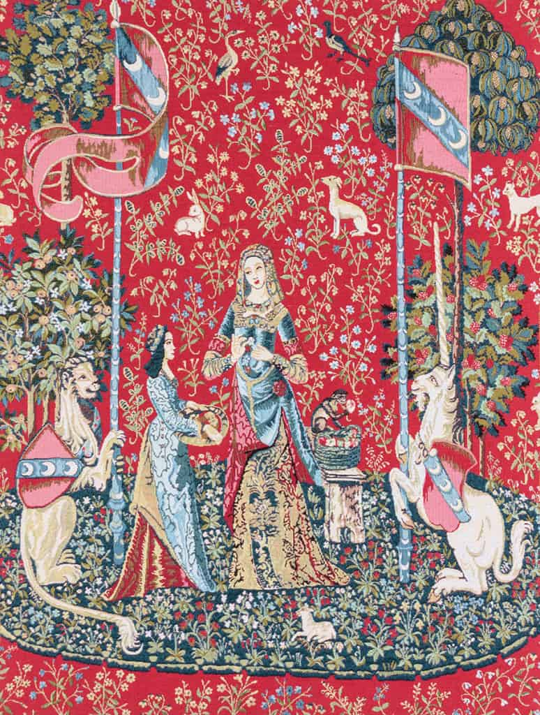 Lady and Unicorn Tapestry - Cluny