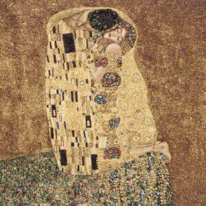 Arazzo Il bacio di Gustav klimt