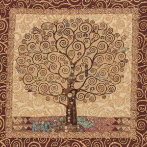 Tapestry Gustav Klimt Tree