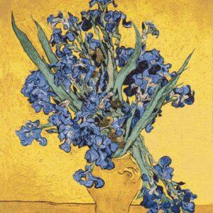 "Arazzo ""Iris""  di Vincent van Gogh"