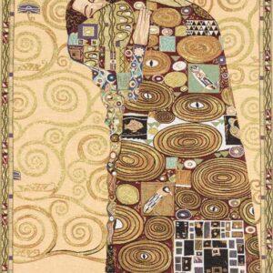 Arazzo Abbraccio – Klimt – particolare albero della vita