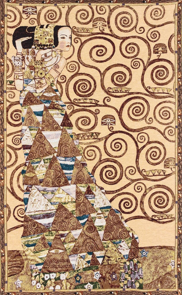 Waiting Tapestry - Klimt - Particular Tree of Life