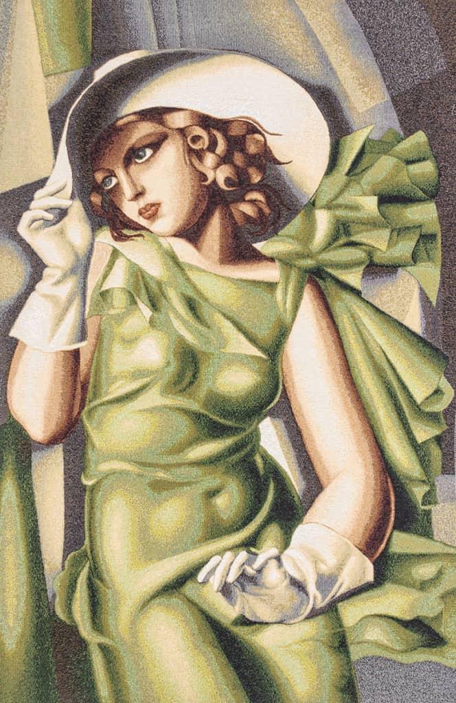 Ragazza in verde - Tamara De Lempicka