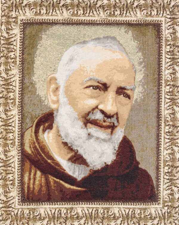Tapestry San Pio - Father Pio