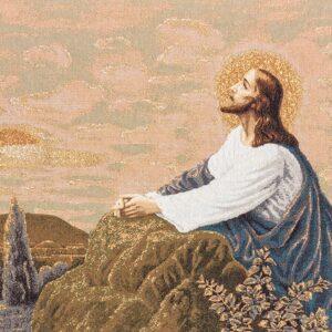 Arazzo Gesù prega nell'orto degli Ulivi