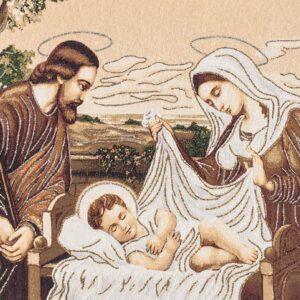 Holy Family Tapestry – Nativity