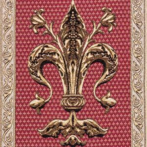 Florentine lily tapestry