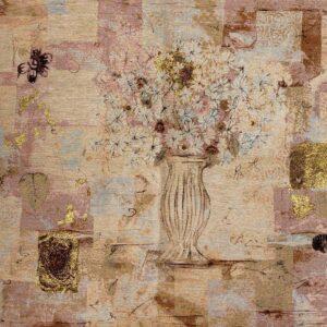 Modern Vase Flower Tapestry