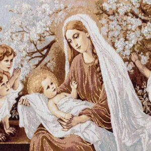 Arazzo Madonna con bambino