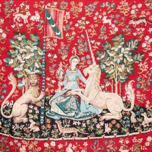 Tapestry Lady and Unicorn – Cluny
