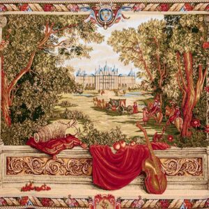 French Balcony Tapestry