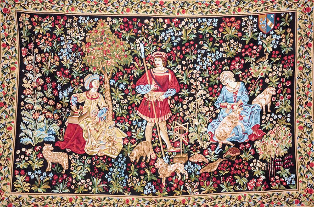 Tapestry Wool tossing