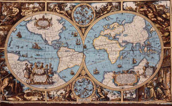 "Cartina georafica ""insert"" - musei vaticani"