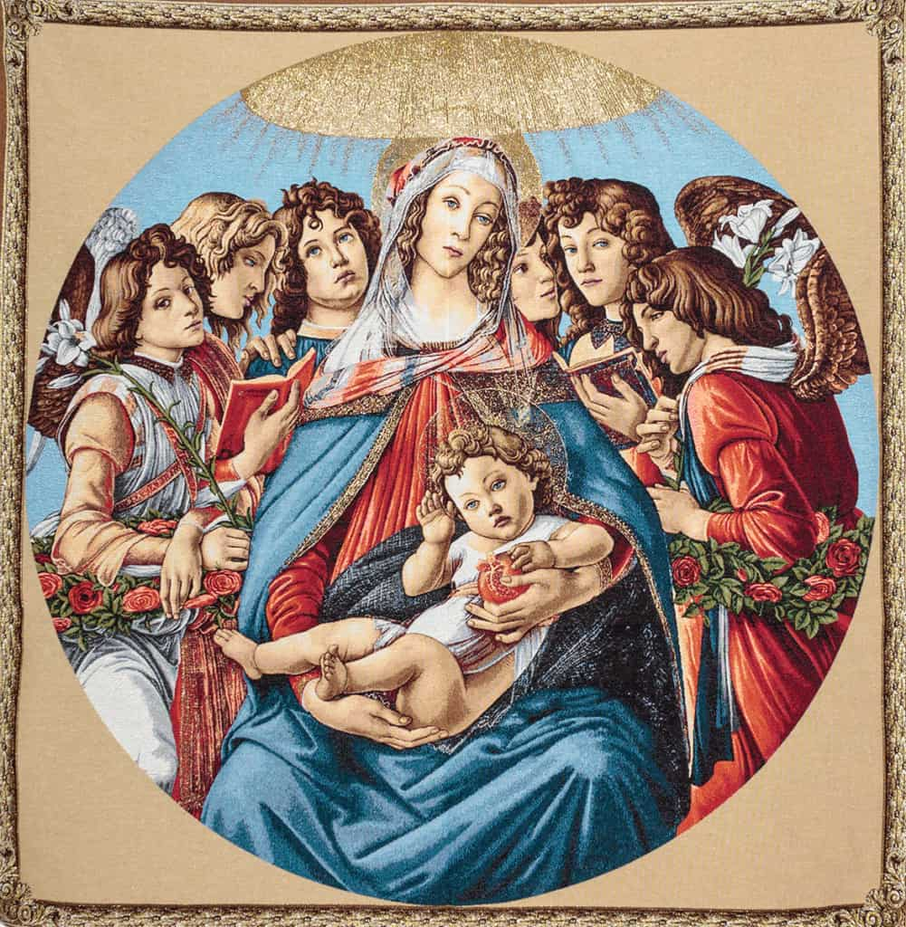 Madonna del Melograno - Botticelli
