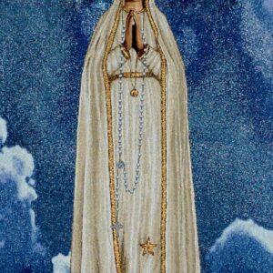 Arazzo Madonna di Fatima