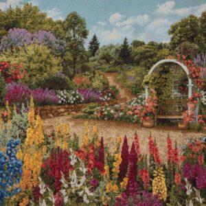 Arazzo Giardino fiorito