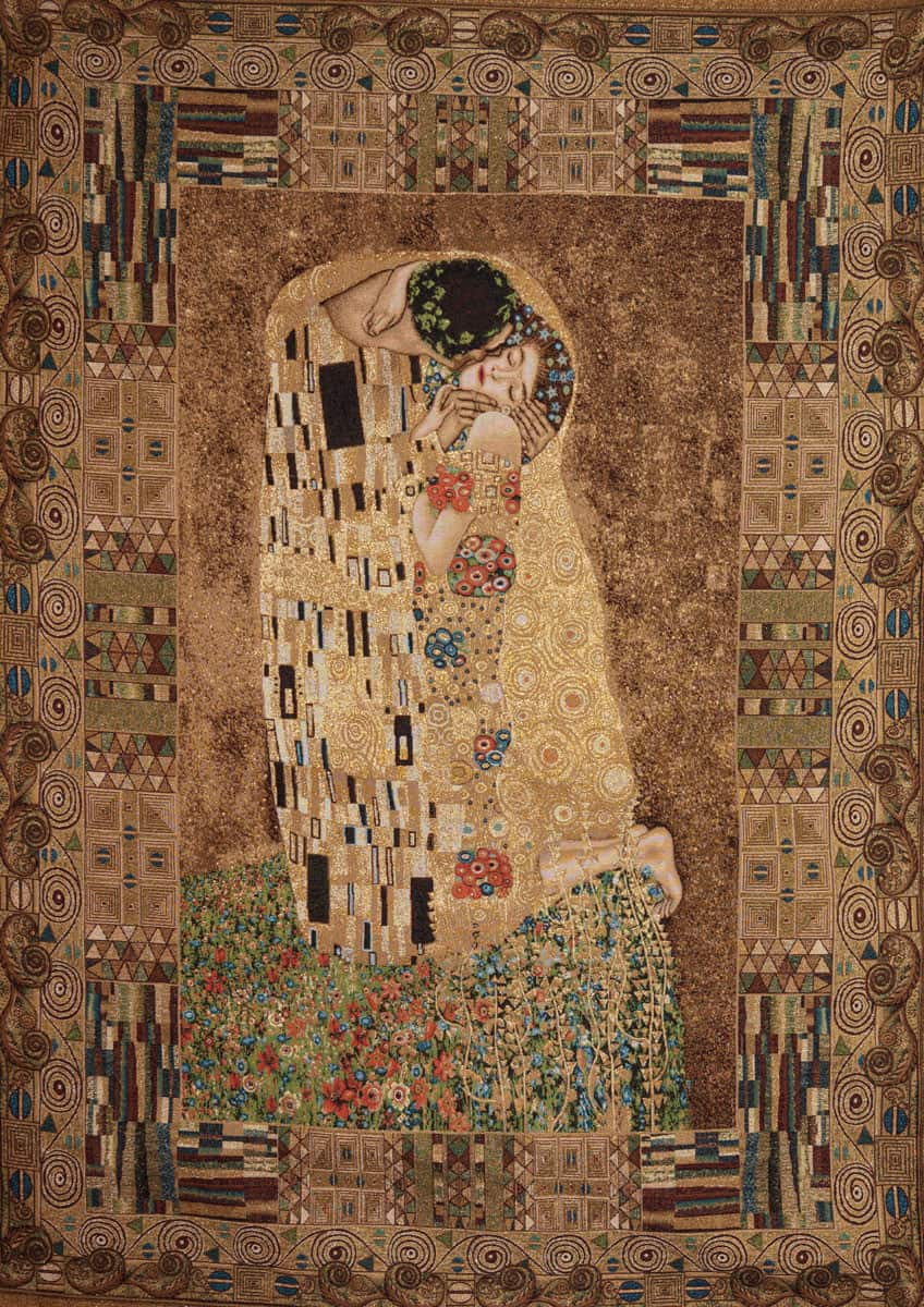 Taprsry the Kiss - Gustav Klimt