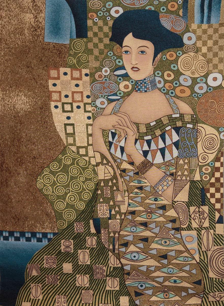 Tapestry Adele Bloch-Bauer Gustav Klimt