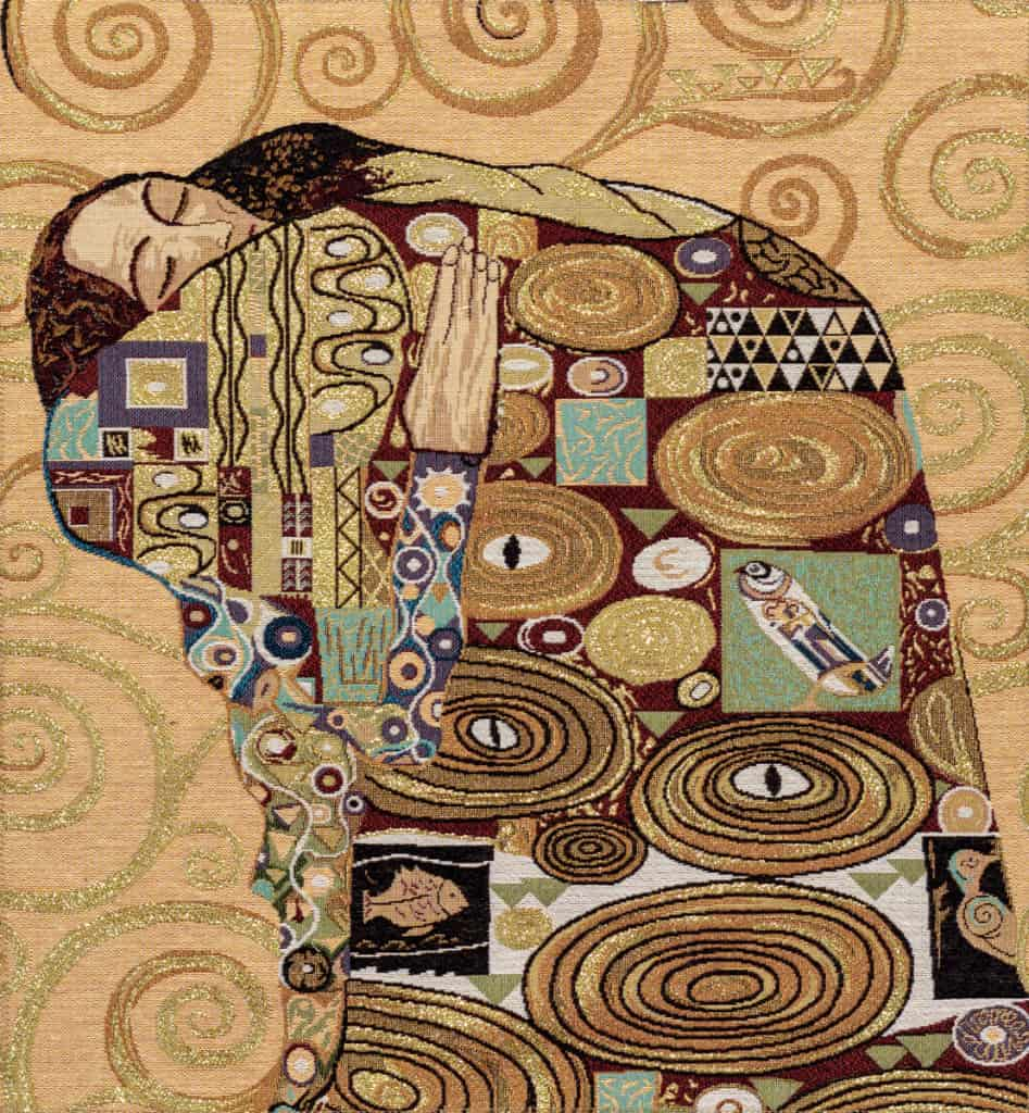 Tapestry Embracing Gustav Klimt