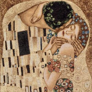 Tapestry The kiss – Gustav Klimt