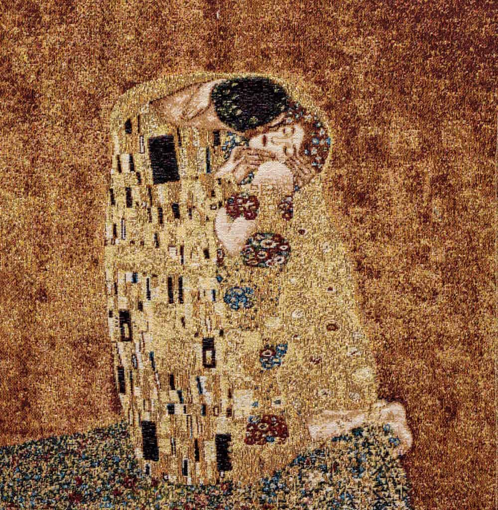 Tapestry The Kiss Gustav Klimt