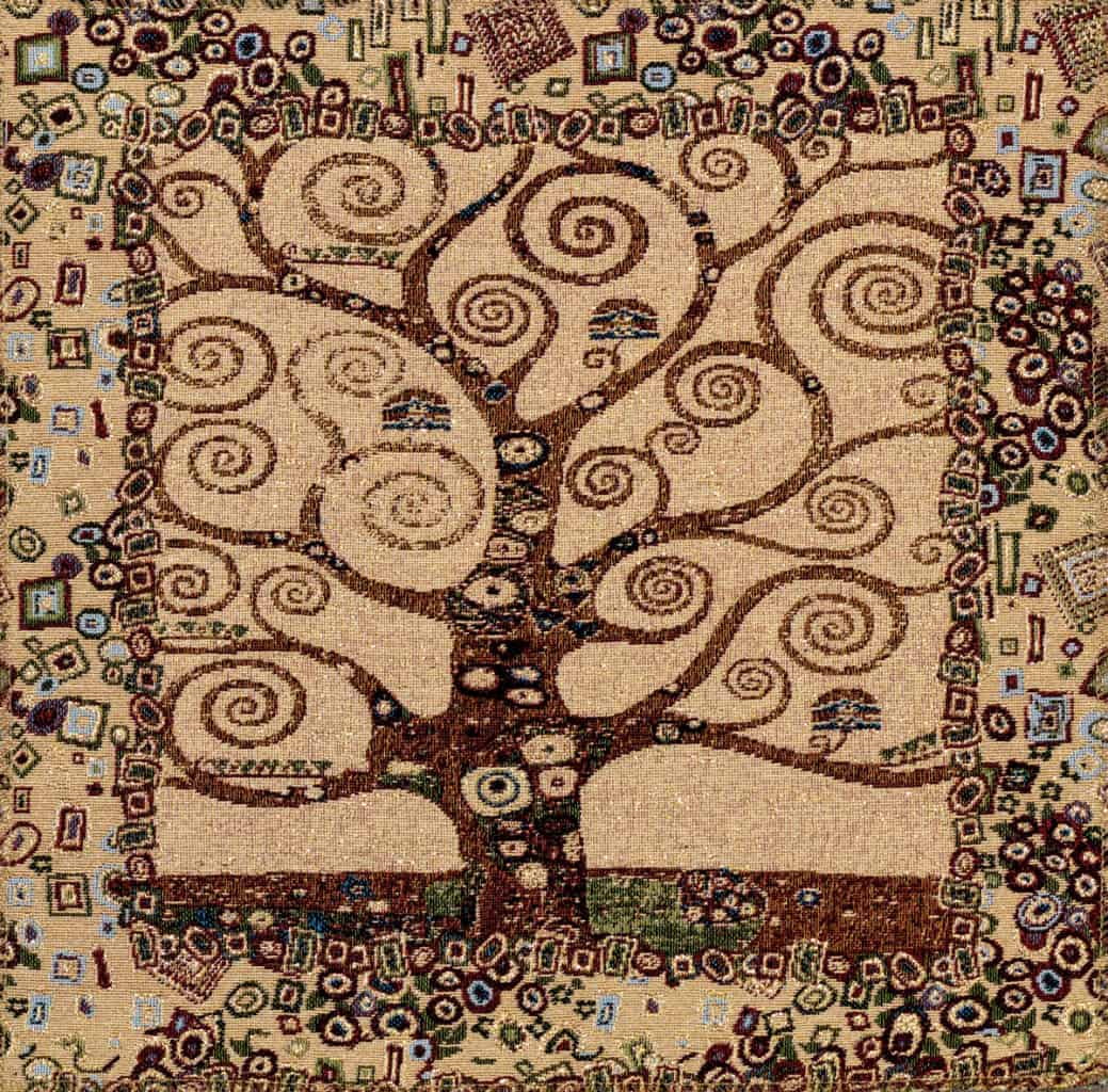 Tapestry Tree of Life - Gustav Klimt