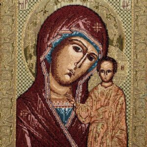Tapestry Madonna Icon