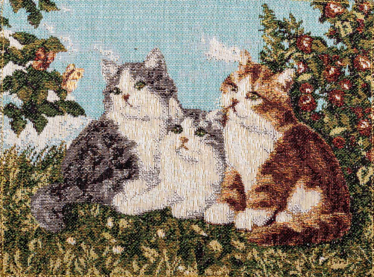 Tapestry Cats