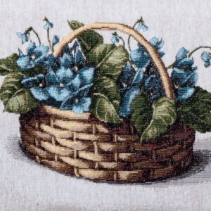Tapestry Basket Violet Mammola