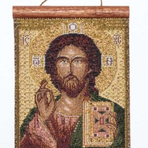 Tapestry Pantocrate Jesus – Icon
