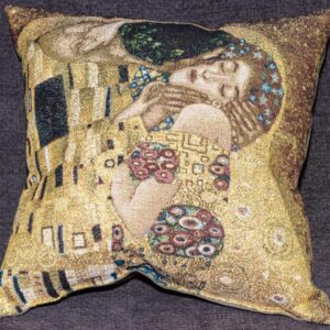 "Arazzo cuscino ""IL bacio"" Gustav Klimt"