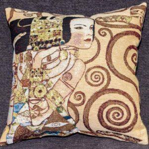 Cuscino Attesa Gustav Klimt