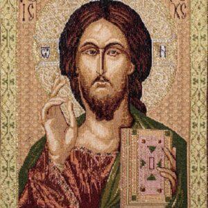 Arazzo Gesù Pantocrate