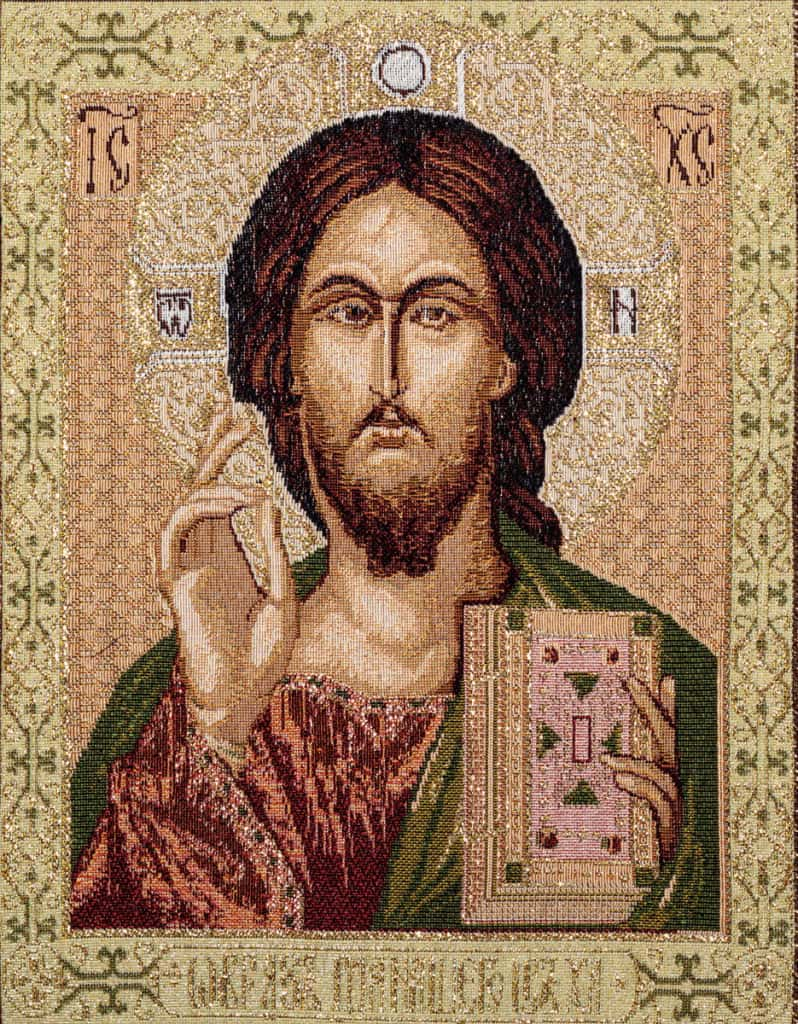 Tapestry Jesus Pantocrate