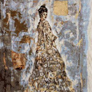 Arazzo Donna Orientale 140×95 cm