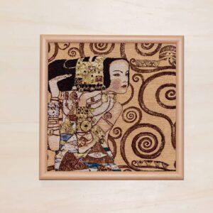Arazzo Quadro Attesa di Klimt