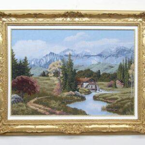 Arazzo Paesaggio alpino