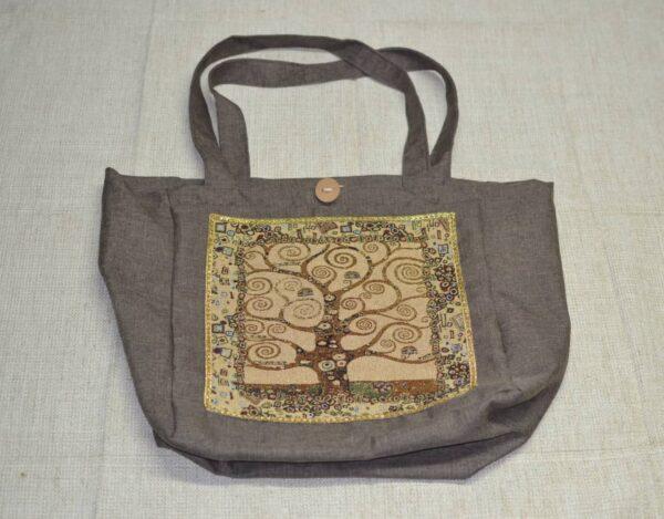 Klimt tree of life bag tapestry