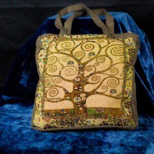 Arazzo Borsa Albero della vita di Klimt