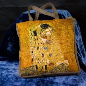Arazzo Borsa Il Bacio di Klimt