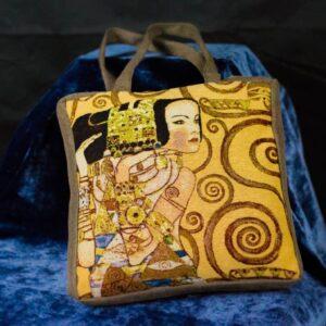 Arazzo Borsa Attesa di Gustav Klimt